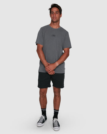 RVCA SHADOW R105053-SMK T-SHIRT SHORT SLEEVE (M)