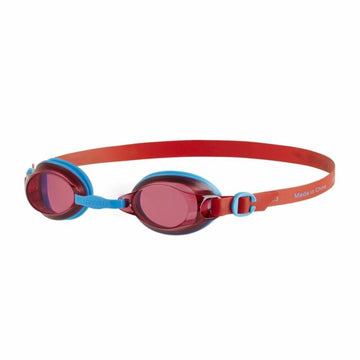 Speedo Jet V2 Gog Ju Blue/Red 809298C106-TUR/RED Swim Goggles Jr