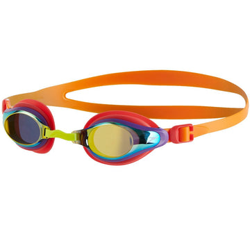 Speedo Mariner Supreme Mirror Ju 811320B989-ORG/GOLD Swim Goggles Jr