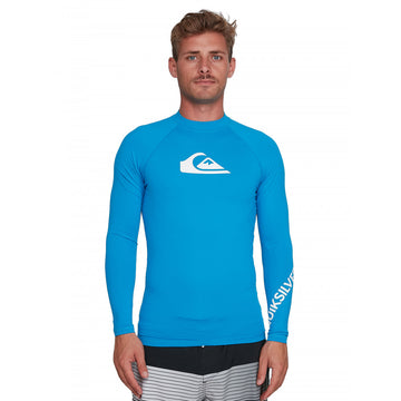 QUIKSILVER ALLTIMLS UQYWR03098-BNR0 RASH GUARD LONG SLEEVE (M)