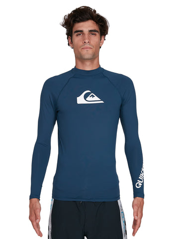 QUIKSILVER ALLTIMLS UQYWR03098-BYK0 RASH GUARD LONG SLEEVE (M)