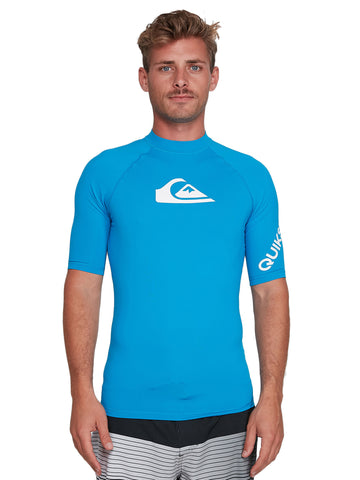 QUIKSILVER ALLTIMSS UQYWR03099-BNR0 RASH GUARD SHORT SLEEVE (M)