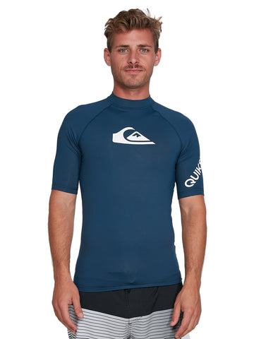 QUIKSILVER ALLTIMSS UQYWR03099-BYK0 RASH GUARD SHORT SLEEVE (M)