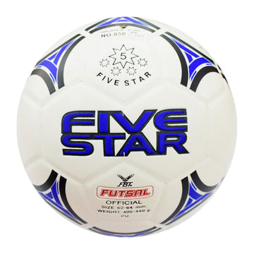 Fbt Five Star NO: 850-WHITE Futsal Ball