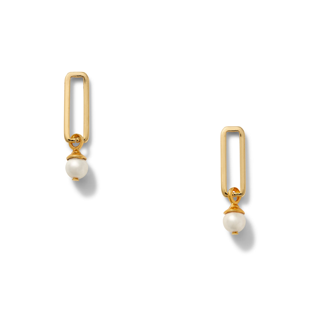 Boxy Goldie Earring