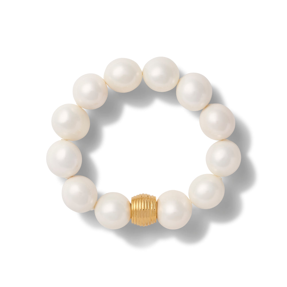 Load image into Gallery viewer, The Other Classic Pebble Pearl Bracelet