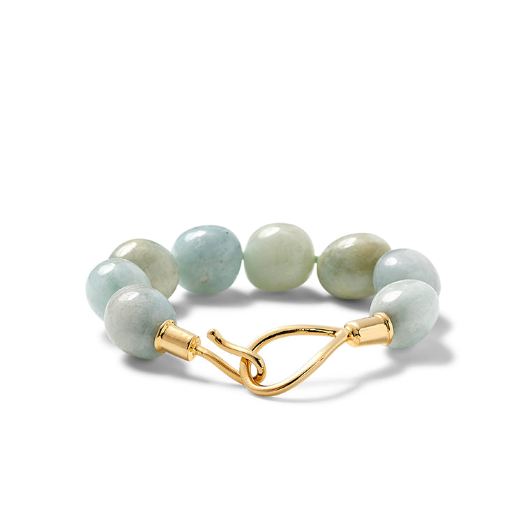 Aquamarine Lasso Up Bracelet