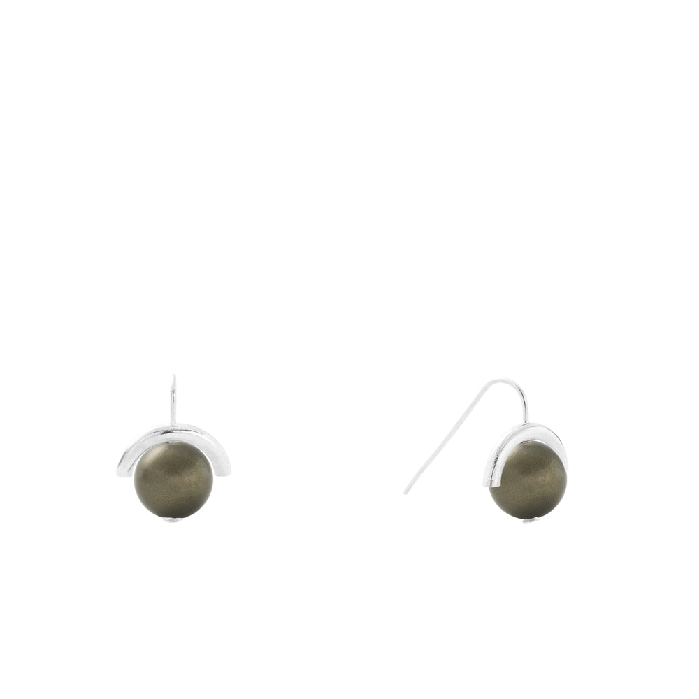 Load image into Gallery viewer, Sterling Baby Pearl Sph-Earring