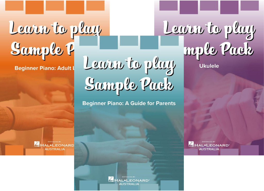 learn to play, hal leonard, sample pack, piano, home schooling, lockdown, music, instrument, bright education australia, teaching resources, ukulele, digital resource
