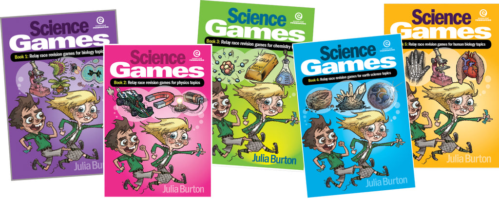Science Games Book, Relay Race Revision Games for Biology Topics, Science, Biology, Physics, Chemistry, Earth Science, Teaching Resources, Book, Bright Education Australia