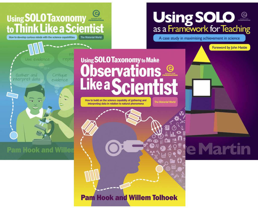 Observations Like a Scientist, Think like a Scientist,Using SOLO as a Framework for Teaching, Science, Biology, Physics, Chemistry, Earth Science, Teaching Resources, Book, Bright Education Australia