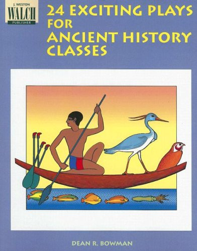 Bright Education Australia, Teacher Resources, Book, History, 24 Exciting Plays for Ancient History