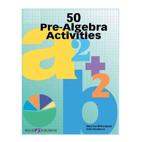 Bright Education Australia, Teacher Resources, Maths, Books, 50 Pre Algebra Activities