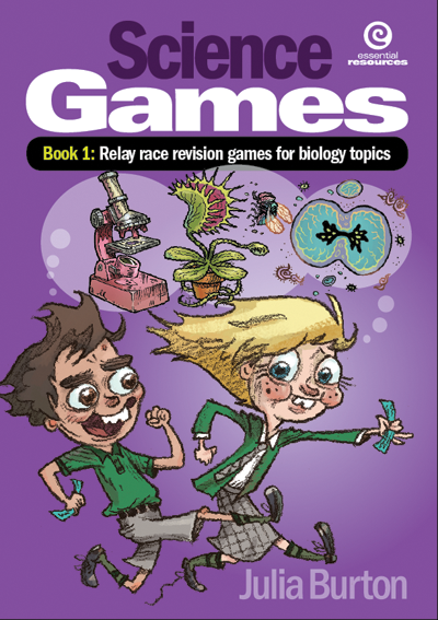 Science Games Book 1: Relay Race Revision Games for Biology Topics, Science, Biology, Physics, Chemistry, Earth Science, Teaching Resources, Book, Bright Education Australia