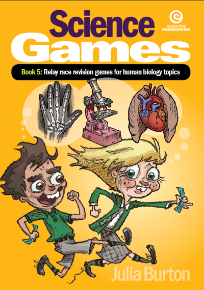 Science Games Book 5 Human Biology: Relay Race Revision Games for Human Biology Topics, Science, Biology, Physics, Chemistry, Earth Science, Teaching Resources, Book, Bright Education Australia