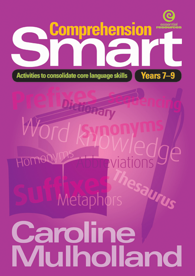 Comprehension Smart: Activities to Consolidate Core Language Skills, Bright Education Australia, Book, Grammar, English, School Materials, Games, Puzzles, Activities, Teaching Resources