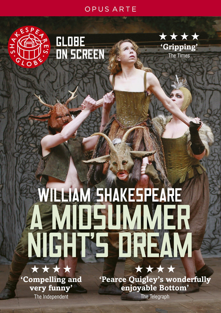 A Midsummer Nights Dream, DVD, Theatre, Play, Shakespeare, Bright Education Australia, School Materials, Globe Live, Globe Theatre, Teaching Resources