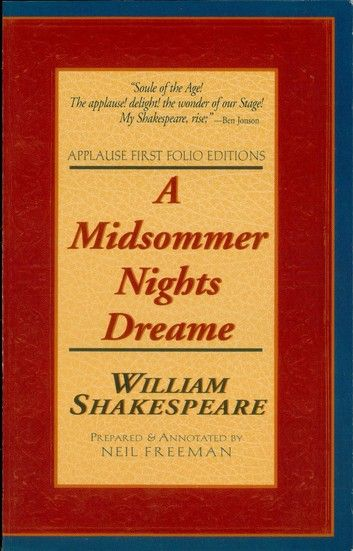 A Midsummer Night's Dream: The Applause Shakespeare Library, Bright Education Australia, Book, Shakespeare, English, School Materials, Activities, Teaching Resources