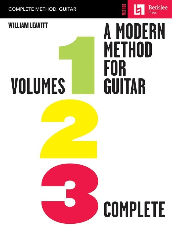 Bright Education Australia, Teacher Resources, Music, Book, A Modern Method for Guitar - Volumes 1,2,3, Berklee Workshop