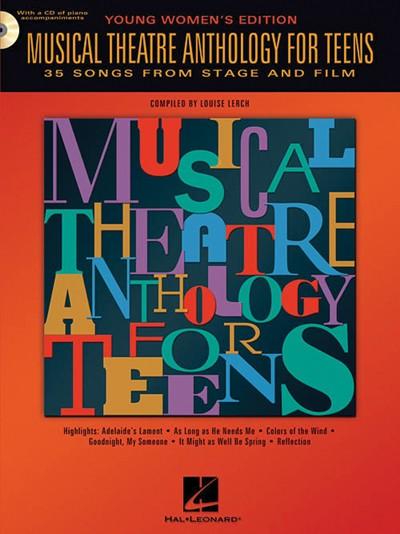 Bright Education Australia, Teacher Resources, Music, Drama, Theatre, Book, CD, Musical Theatre Anthology for Teens: Young Women's Edition