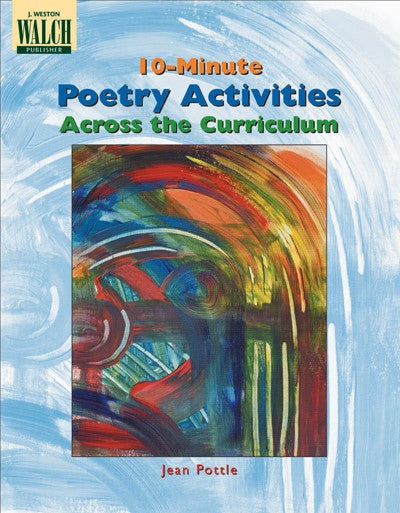 10 Minute Poetry Activities, Poetry, Bright Education Australia, Book, Grammar, English, School Materials, Games, Puzzles, Activities, Teaching Resources