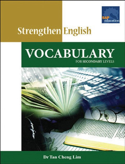 Strengthen English Vocabulary for Secondary Levels, Bright Education Australia, Book, Grammar, English, School Materials, Activities, Teaching Resources