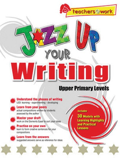 Jazz Up Your Writing, Bright Education Australia, Book, Grammar, English, School Materials, Games, Puzzles, Activities, Teaching Resources
