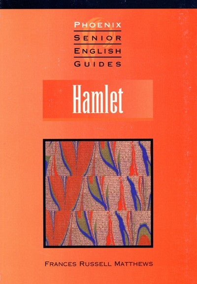 Hamlet Senior English Guide, Bright Education Australia, Book, Shakespeare, English, School Materials, Activities, Teaching Resources