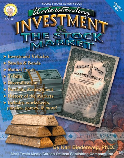 Understanding Investment & the Stock Market, Accounting, Finance, Quantitative Data, Financial Data, Market Share, Market Growth, Marketing, A1 Poster, Economics, Business, Teaching Resources, Book, Bright Education Australia