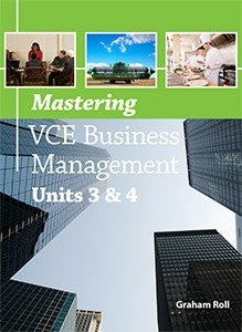 Mastering VCE Business Management Units 3&4, Accounting, Finance, Quantitative Data, Financial Data, Market Share, Market Growth, Marketing, A1 Poster, Economics, Business, Teaching Resources, Book, Bright Education Australia
