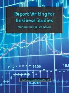 Report Writing for Business Studies, Accounting, Finance, Quantitative Data, Financial Data, Market Share, Market Growth, Marketing, A1 Poster, Economics, Business, Teaching Resources, Book, Bright Education Australia