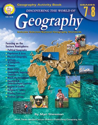 Bright Education Australia, Teacher Resources, Book, Geography, Climate, Earth Science, Discovering the World of Geography