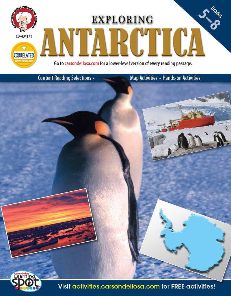 Bright Education Australia, Teacher Resources, Book, Geography, Climate, Earth Science, Exploring Antarctica