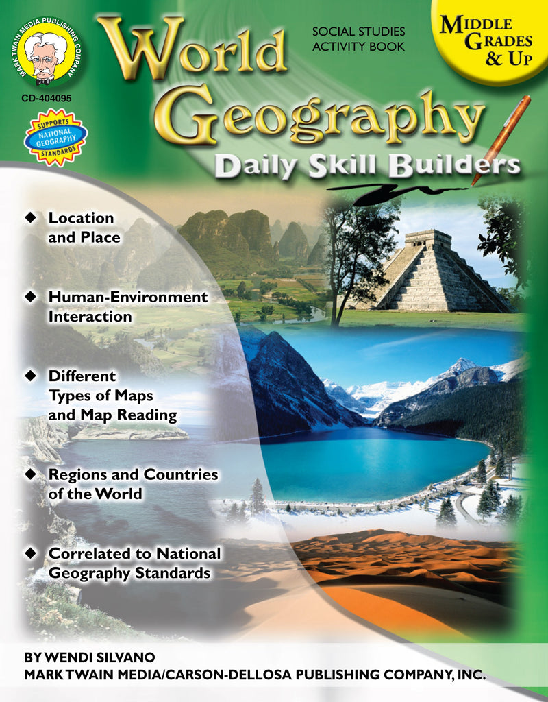 Bright Education Australia, Teacher Resources, Book, Geography, Climate, Earth Science, World Geography Daily Skill Builders