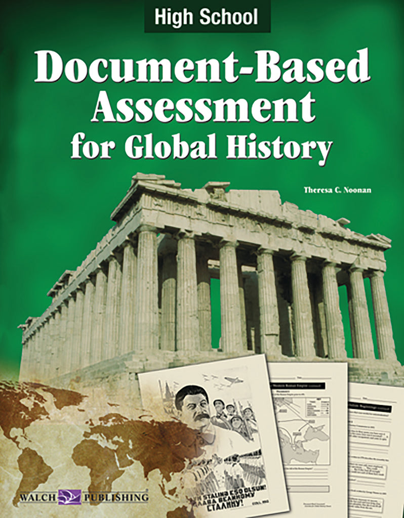 Bright Education Australia, Teacher Resources, Book, History, Document Based Assessment for Global History