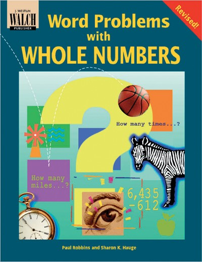 Bright Education Australia, Teacher Resources, Maths, Books, Word Problems with Whole Numbers