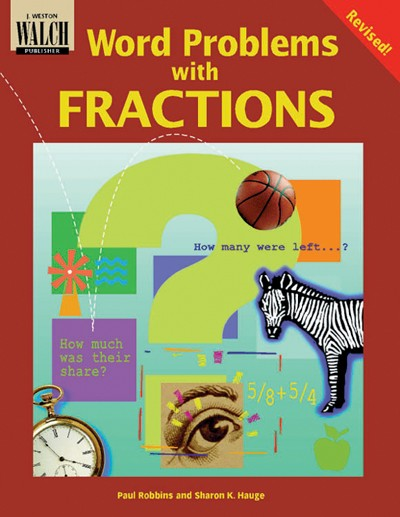 Bright Education Australia, Teacher Resources, Maths, Books, Word Problems with Fractions