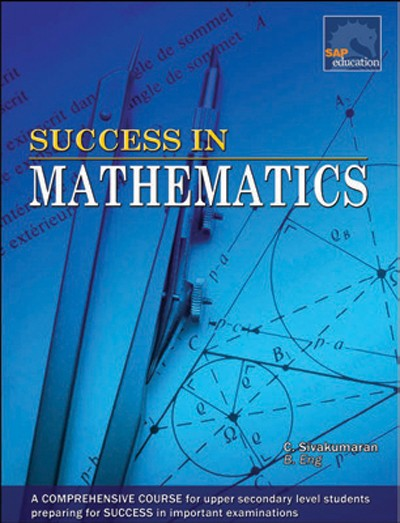 Bright Education Australia, Teacher Resources, Maths, Books, Success in Mathematics for Upper Secondary