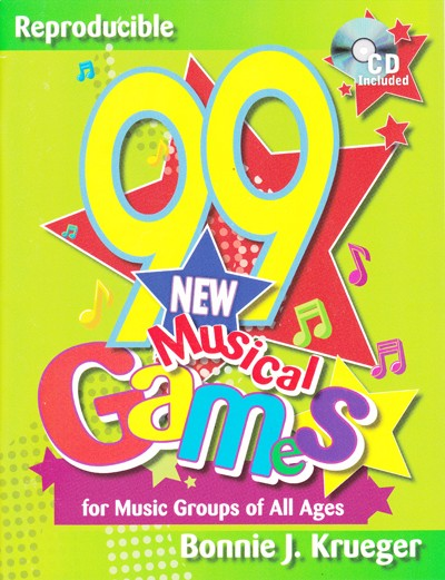 Bright Education Australia, Teacher Resources, Music, Book, 99 New Musical Games for Music Groups of All Ages, CD