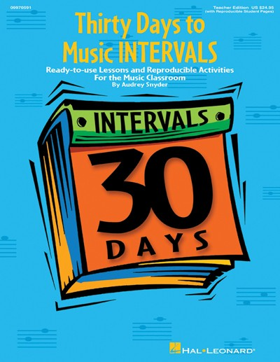 Bright Education Australia, Teacher Resources, Music, Book, 30 Days to Music Intervals, Lessons, Reproducible, Activities