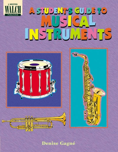 Bright Education Australia, Teacher Resources, Music, Book,A Student's Guide to Musical Instruments