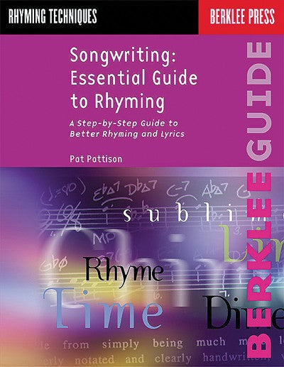 Bright Education Australia, Teacher Resources, Music, Book, Songwriting: Essential Guide to Rhyming, Lyrics, Vocalist, Composers, Berklee Press