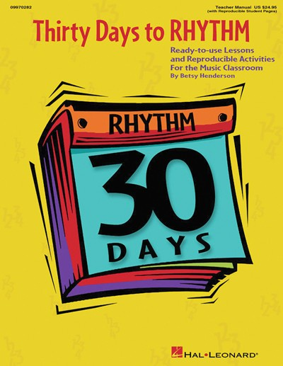 Bright Education Australia, Teacher Resources, Music, Book, 30 Days to Rhythm Lessons, Reproducible, Activities