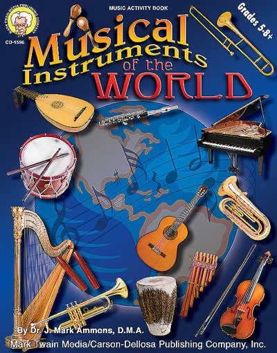Bright Education Australia, Teacher Resources, Music, Book, Musical Instruments of the World