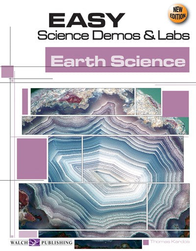 Science, Biology, Physics, Chemistry, Earth Science, Teaching Resources, Poster, Bright Education Australia,Easy Science Demos & Labs: Earth Science,