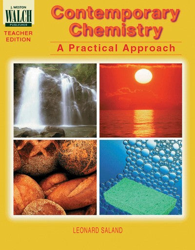 Science, Biology, Physics, Chemistry, Earth Science, Teaching Resources, Poster, Bright Education Australia,Contemporary Chemistry: A Practical Approach Teacher's Guide,