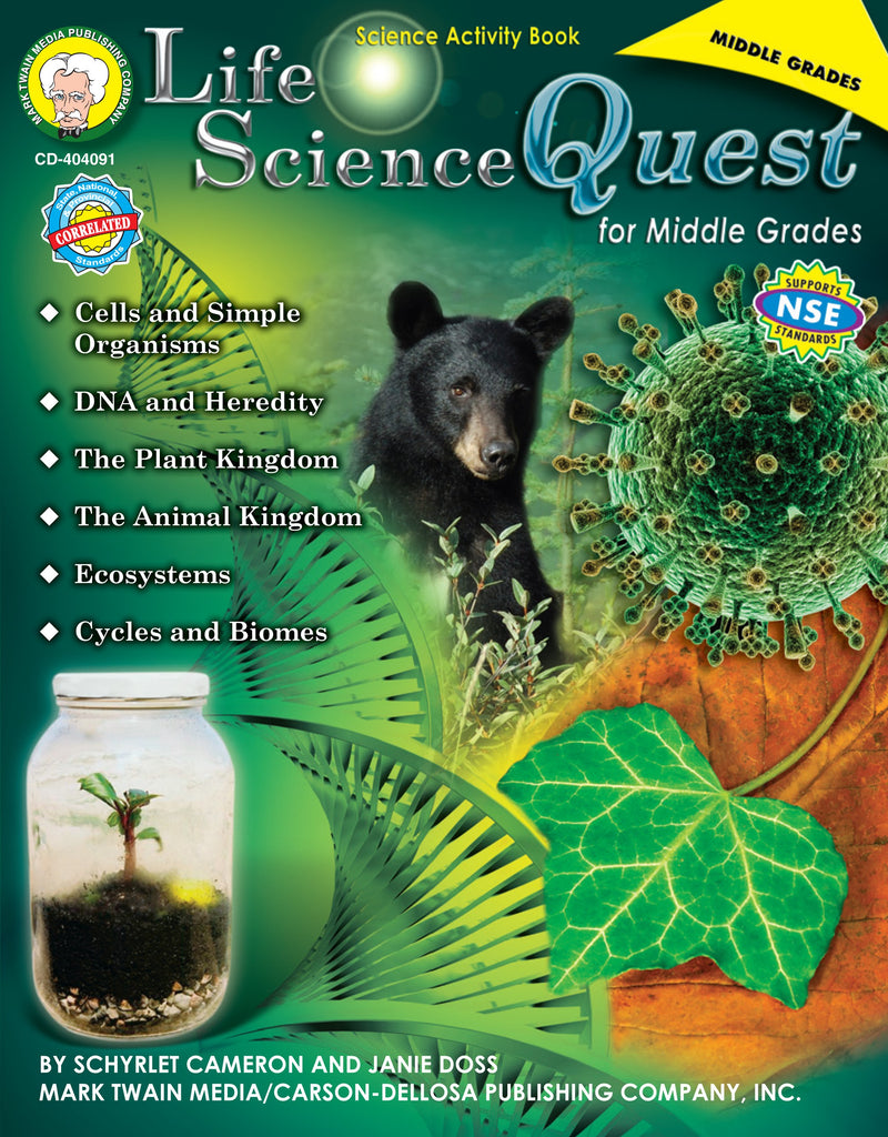 Life Science Quest, Science, Biology, Physics, Chemistry, Earth Science, Teaching Resources, Book, Bright Education Australia