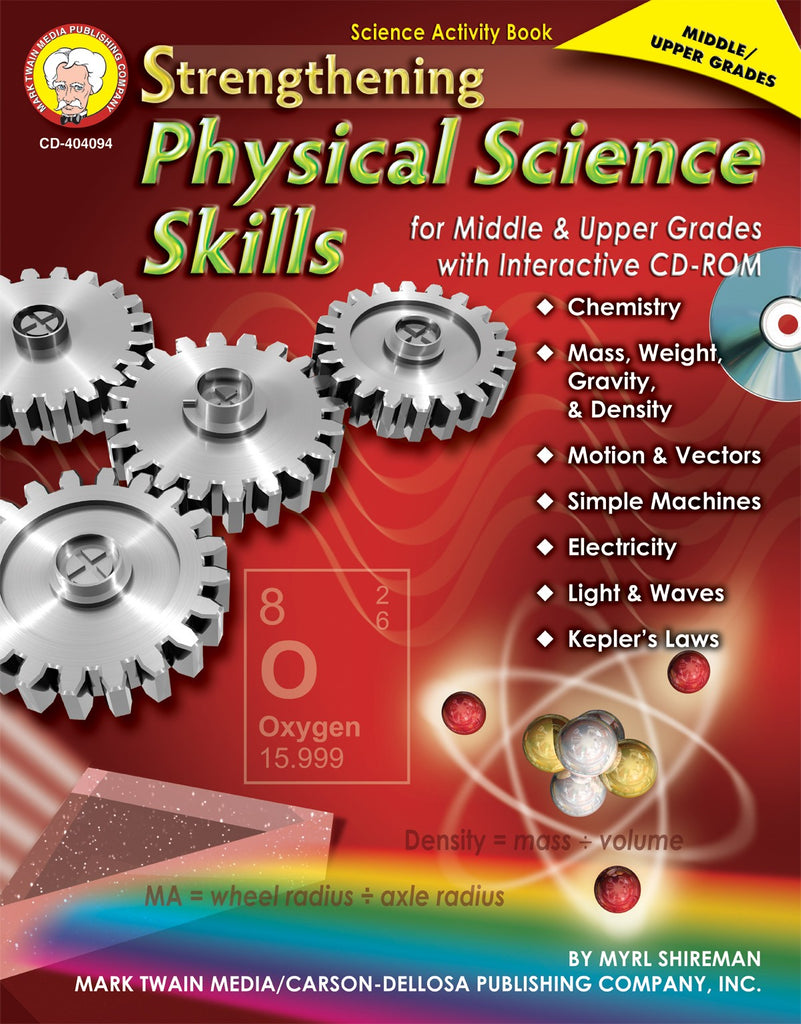 Strengthening Physical Science Skills + CD Rom, Science, Biology, Physics, Chemistry, Earth Science, Teaching Resources, Book, Bright Education Australia
