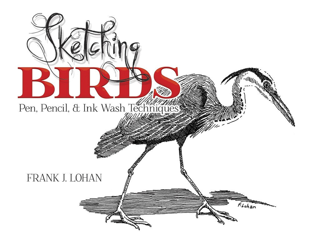 Bright Education Australia, Teacher Resources, Visual Art, Art, Book, drawing, painting, Sketching Birds: Pen, Pencil & Ink Wash Techniques