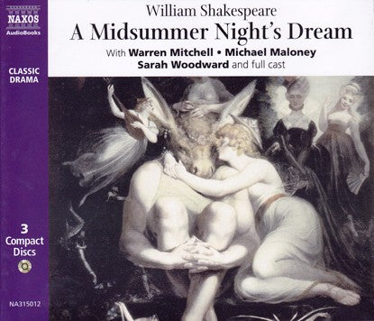 A Midsummer Nights Dream, CD, Theatre, Play, Shakespeare, Bright Education, School Materials, Teaching Resources